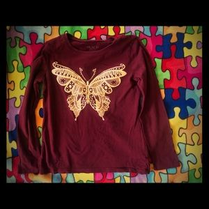 Children's Place Butterfly shirt